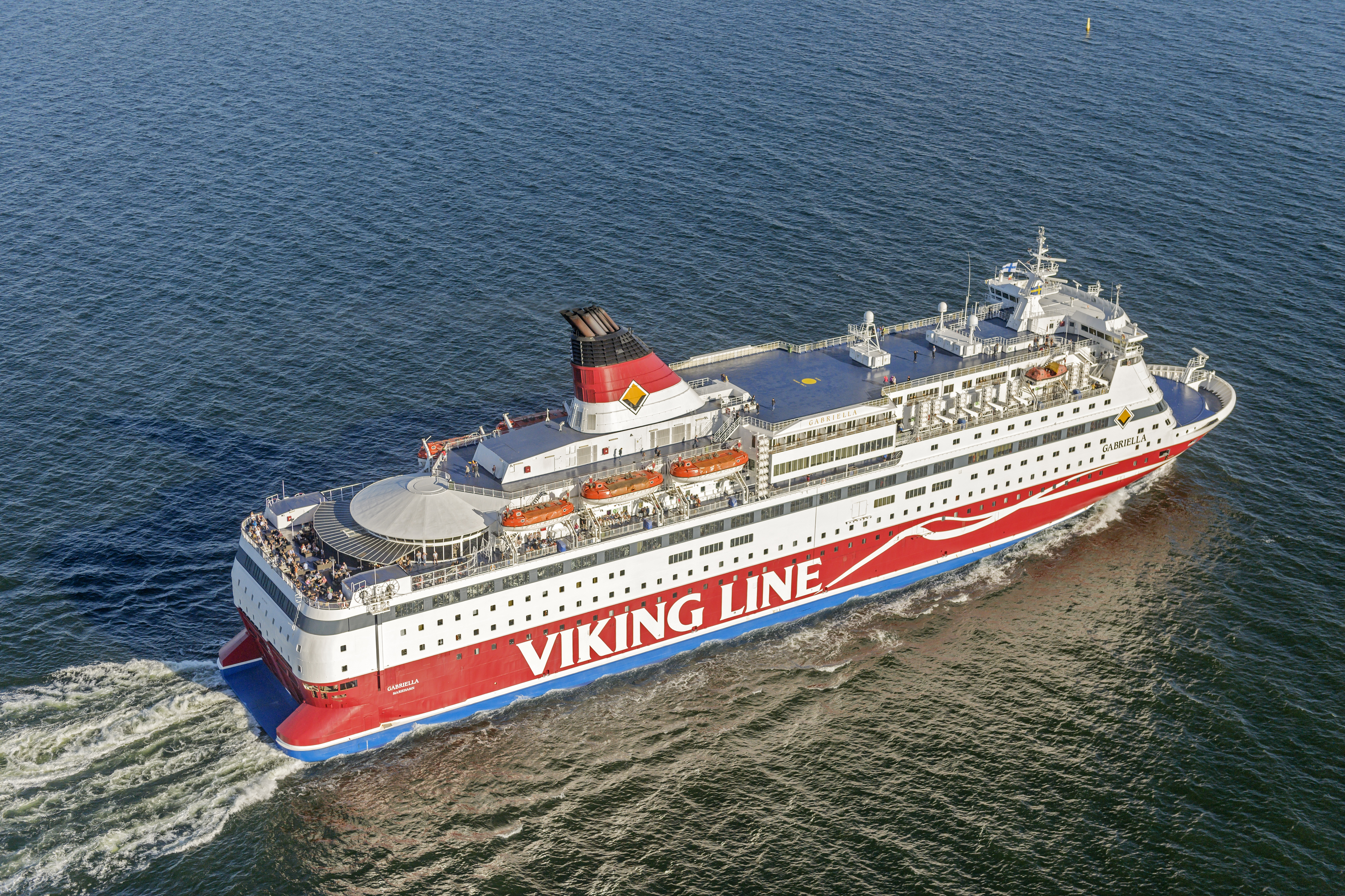 Lean Marine in collaboration with Viking Line to reduce emissions
