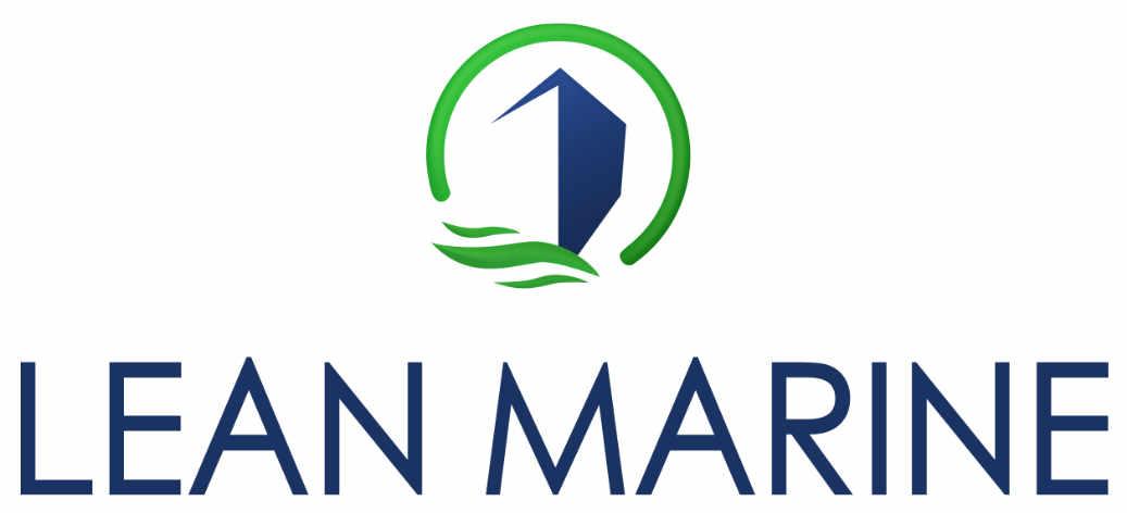 lean marine logo two colors