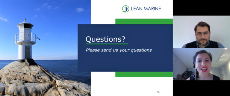 Lean Marine & Abacus Marine Consultants webinar presentation