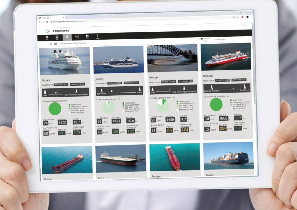 Fleet Analytics - Fleet view