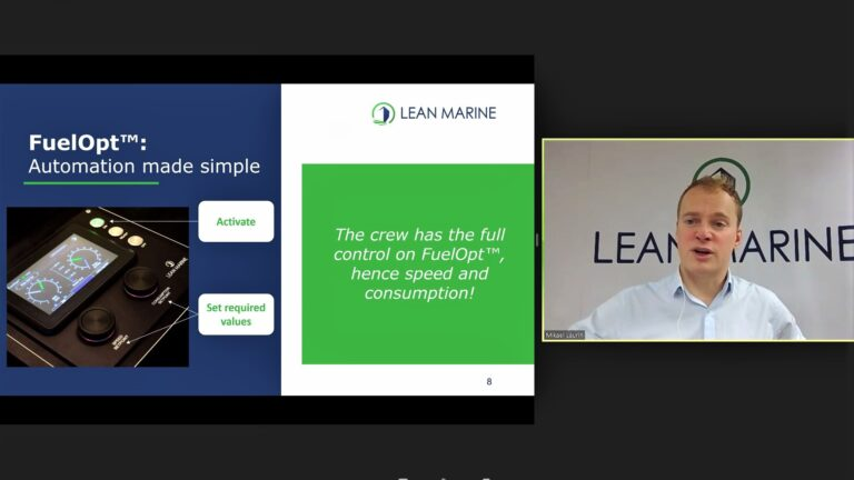 APM Webinar - Joint LM & I-tech - Vessel Efficiency - Mikael Laurin