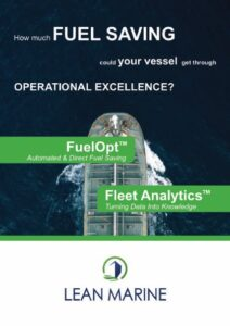 Lean Marine Brochure including FuelOpt and Fleet Analytics offers
