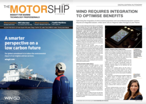 Motorship Article - Wind requires integration to optimise benefits